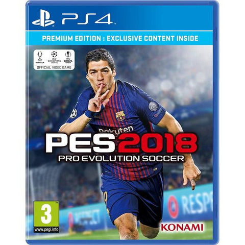 PES Pro Evolution Soccer 2018 - Premium Edition [PlayStation 4]