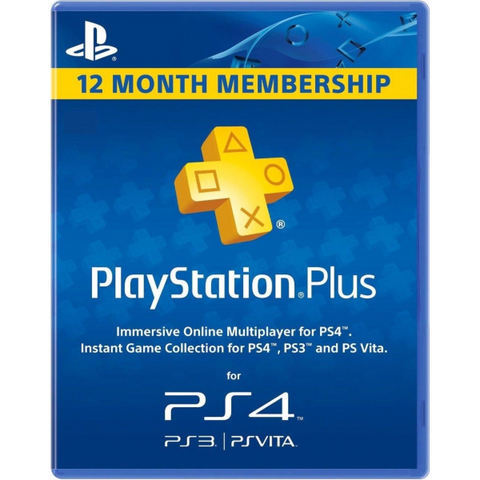 Sony PlayStation PLUS Live 1 Year / 12 Month Membership Card [PlayStation Accessory]