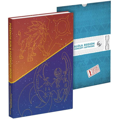 Pokémon Sun and Pokémon Moon: Official Collector's Edition Guide [Strategy Guide]