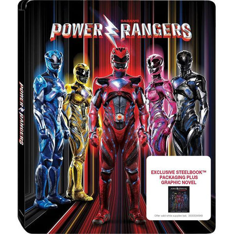 Power Rangers - Target Exclusive SteelBook [Blu-Ray + DVD + Digital]