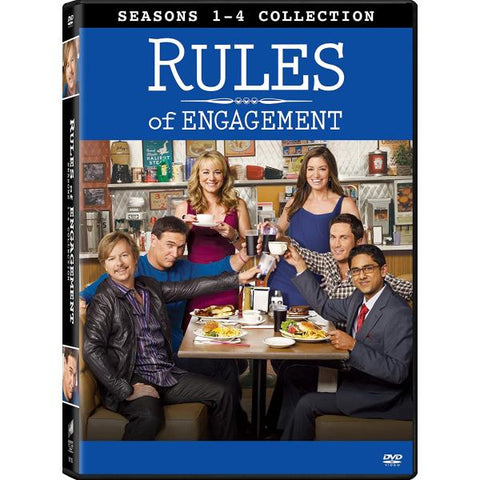 Rules of Engagement: Season 1-4 Collection [DVD Box Set]