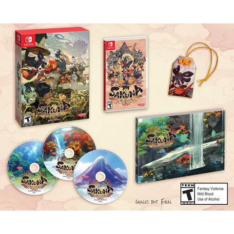 Sakuna: Of Rice and Ruin - Divine Edition [Nintendo Switch]