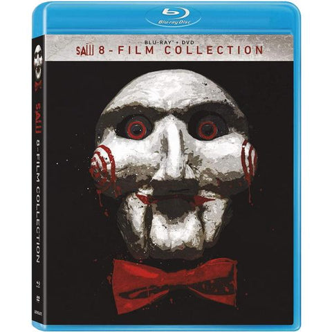 Saw: 8-Film Collection [Blu-ray + DVD Box Set]