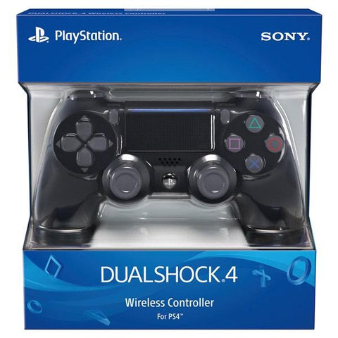 DualShock 4 Wireless Controller - Jet Black [PlayStation 4 Accessory]