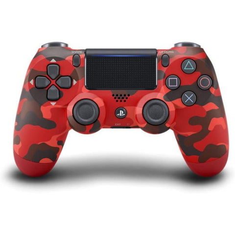 DualShock 4 Wireless Controller - Red Camo Edition [PlayStation 4 Accessory]