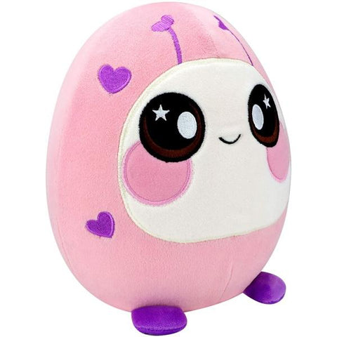 Squeezamals Scented Deluxe Plush - Pink Lady Bug [Toys, Ages 4+]