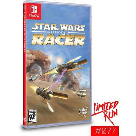 Star Wars Episode I: Racer - Limited Run #077 [Nintendo Switch]