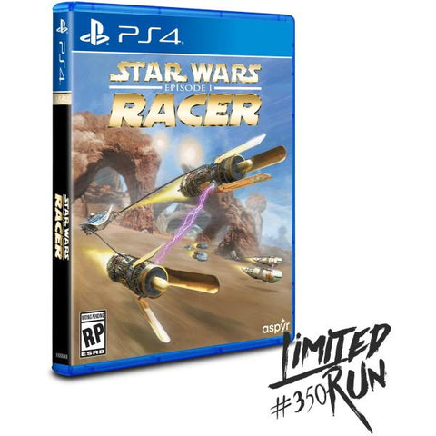 Star Wars Episode I: Racer - Limited Run #350 [PlayStation 4]