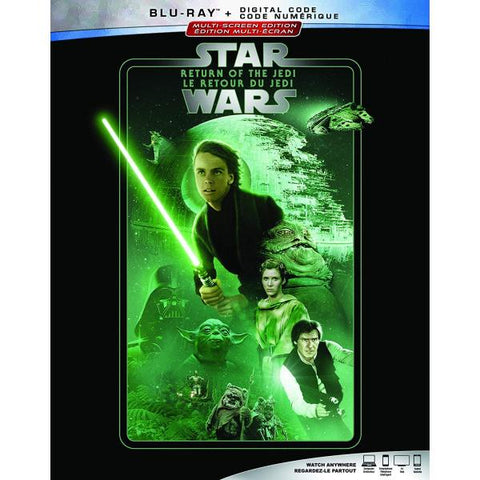 Star Wars: Episode VI - Return of the Jedi [Blu-ray + Digital]