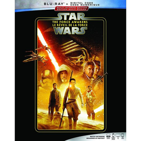 Star Wars: Episode VII - The Force Awakens [Blu-ray + Digital]