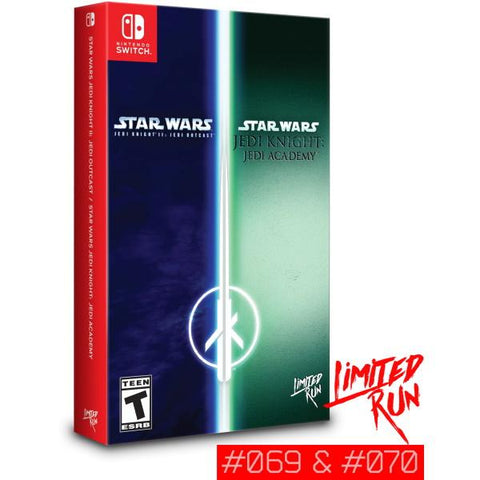 Star Wars Jedi Knight II: Jedi Outcast / Star Wars Jedi Knight: Jedi Academy - Limited Run #069 & #070 [Nintendo Switch]
