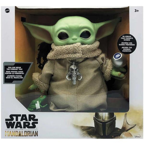 "Star Wars: The Mandalorian - The Child (Baby Yoda) 12"" Plush Figure w/ Accessories [Toys, Ages 3+]"