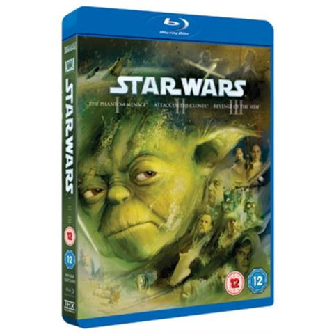 Star Wars: Prequel Trilogy - Episodes I-III [Blu-ray Box Set]