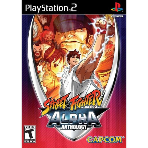 Street Fighter Alpha Anthology [PlayStation 2]