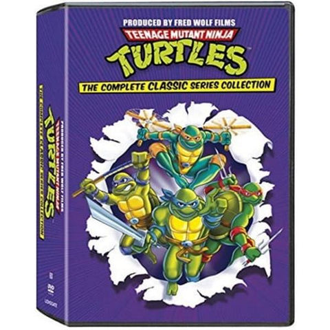 Teenage Mutant Ninja Turtles: The Complete Classic Series Collection - Seasons 1-10 [DVD Box Set]