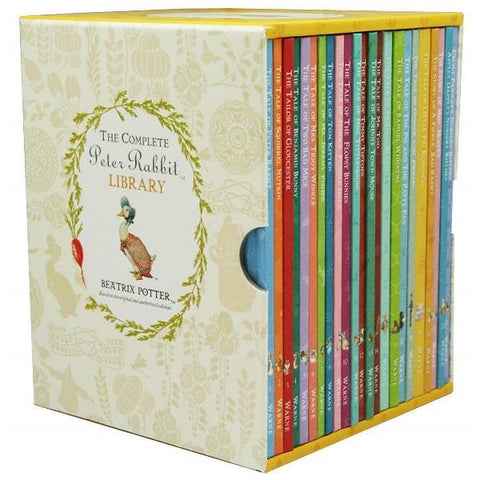 The Complete Peter Rabbit Library [23 Hardcover Book Set]