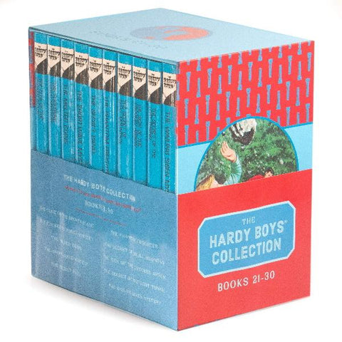 The Hardy Boys Mystery Collection Volume 21-30 [10 Hardcover Book Set]