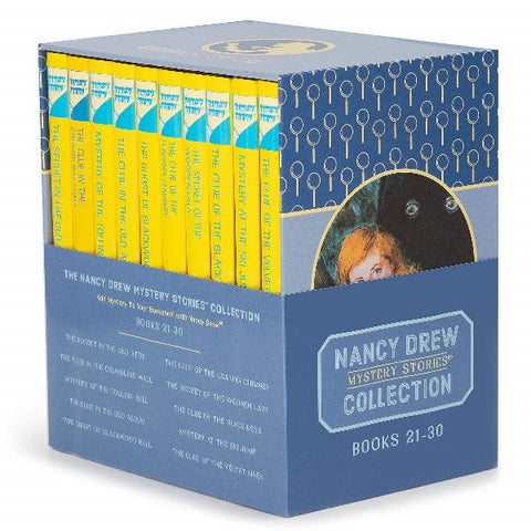 The Nancy Drew Mystery Collection Volume 21-30 [10 Hardcover Book Set]