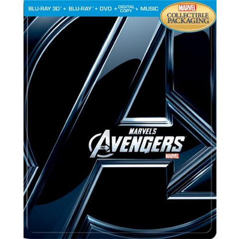 Marvel's The Avengers - Limited Edition SteelBook [3D + 2D Blu-ray + DVD + Digital]