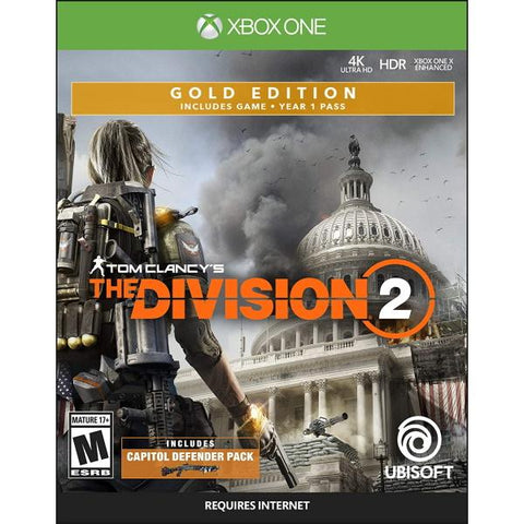 Tom Clancy's The Division 2 - Gold SteelBook Edition [Xbox One]
