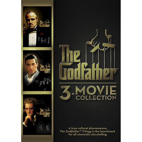The Godfather 3-Movie Collection [DVD Box Set]