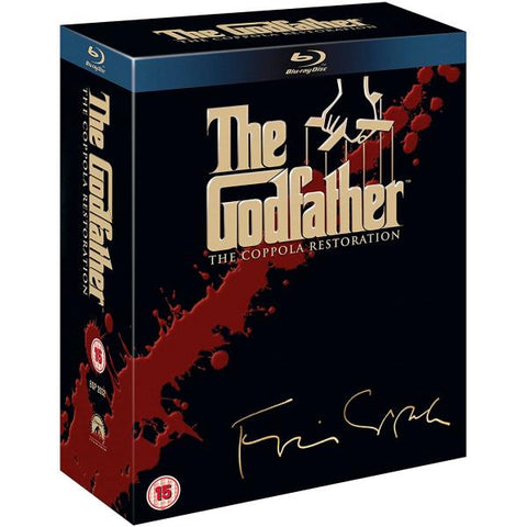 The Godfather Trilogy: The Coppola Restoration [Blu-Ray Box Set]