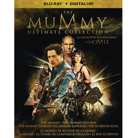 The Mummy Ultimate Collection [Blu-Ray Box Set + Digital HD]