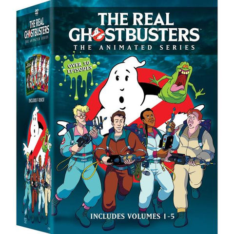The Real Ghostbusters: The Animated Series - Volumes 1-5 [DVD Box Set]