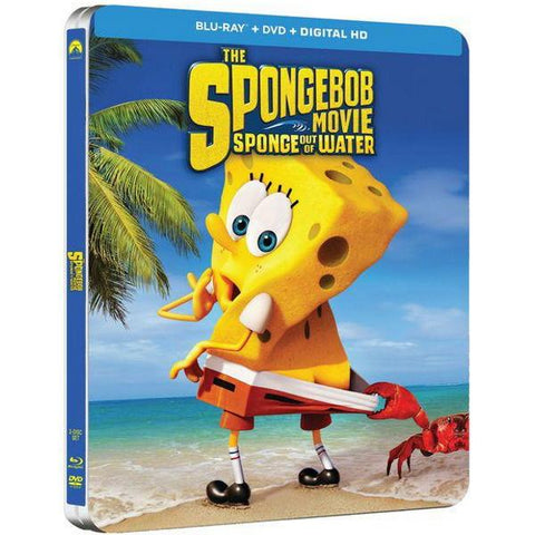 The SpongeBob Movie: Sponge Out of Water - Best Buy Exclusive SteelBook [Blu-ray + DVD + Digital]