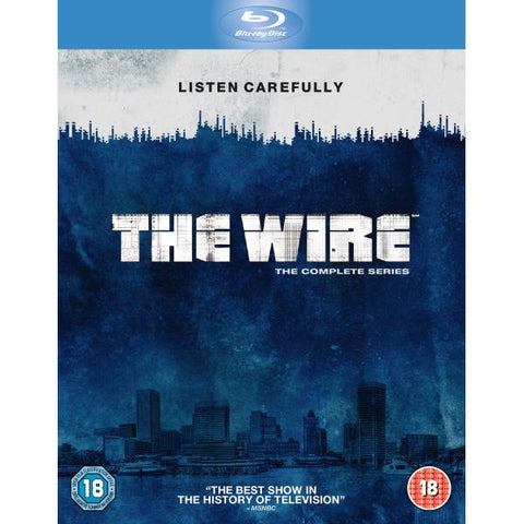 The Wire: The Complete Series - Seasons 1-5 [Blu-Ray Box Set]