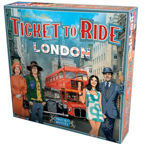 Ticket to Ride: London [Board Game, 2-4 Players]