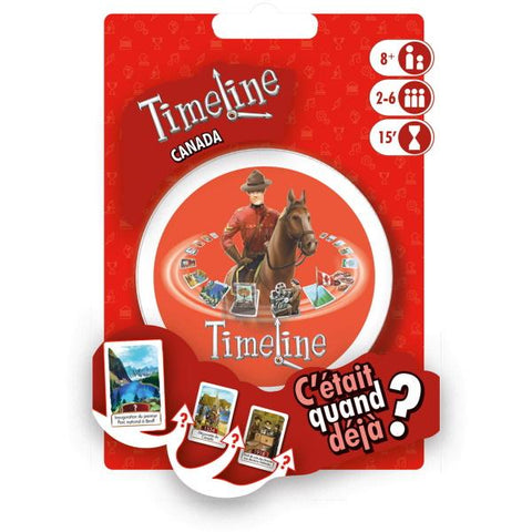 Timeline: Canada [Card Game, 2-6 Players]