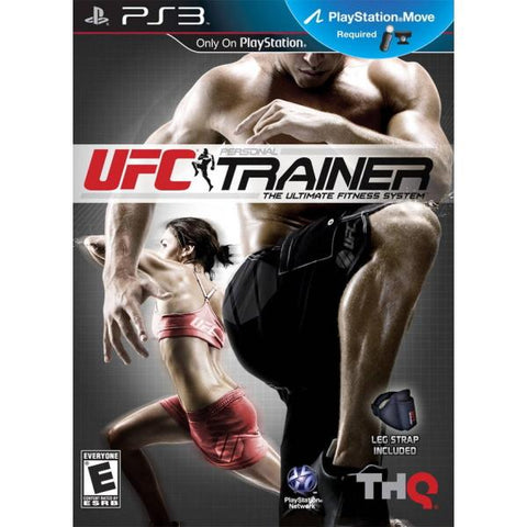 UFC Personal Trainer: The Ultimate Fitness System w/ Included Leg Strap [PlayStation 3]