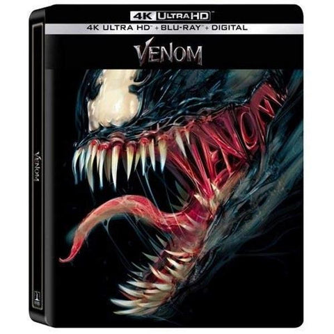 Marvel's Venom - 4K Limited Edition SteelBook [Blu-ray + 4K UHD + Digital]