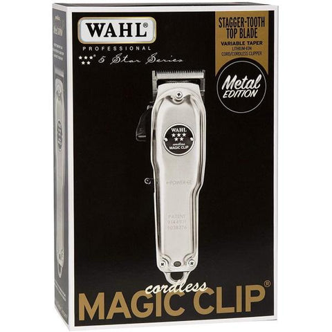 Wahl Professional 5-Star Cordless Magic Clip Metal Edition - #8509 [Electronics]