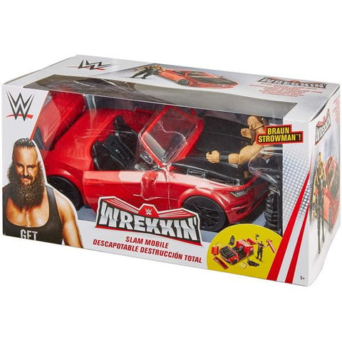 WWE Wrekkin' Slam Mobile [Toys, Ages 6+]