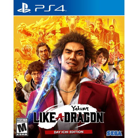 Yakuza: Like a Dragon - Day Ichi Edition [PlayStation 4]