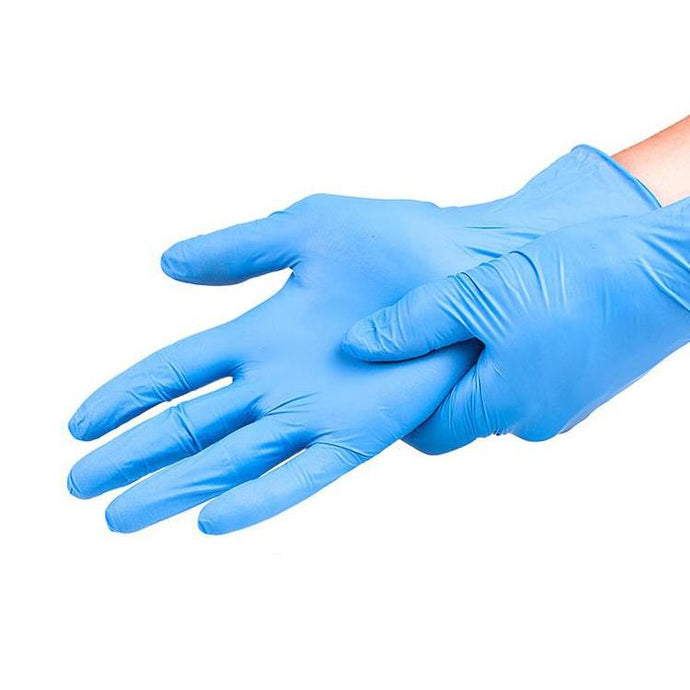 100 Disposable Nitrile Gloves - PPEonDemand.ca
