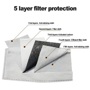 Replacement PM2.5 FILTER-The Best Protection after the N95 Mask