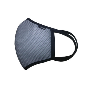 Reusable 5 Layer 100% Cotton Mesh Face Mask with PM2.5 Filter (Included)-Available in 5 Colours