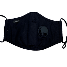 Load image into Gallery viewer, Reusable 5 Layer 100% Cotton Face Mask with Breathing Valve and PM2.5 Filter (Included)