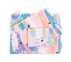 Pink Breeze Essential Pouches