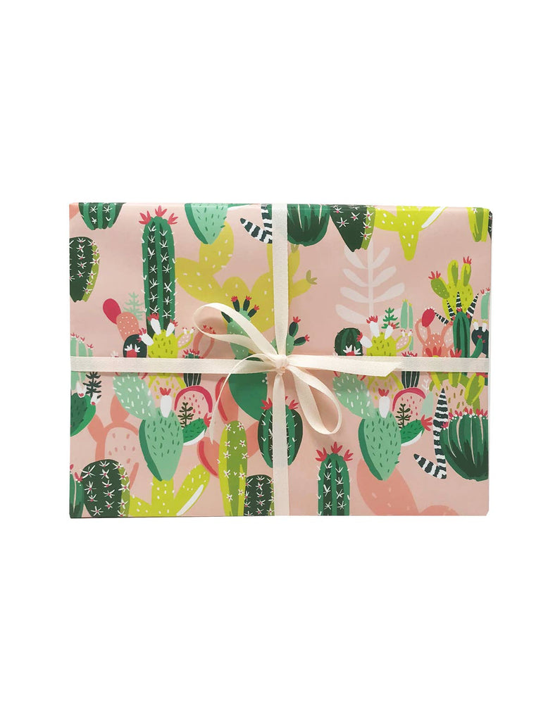Prickly Pear Gift Wrap - Single Sheet