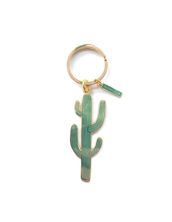 Load image into Gallery viewer, Saguaro Cactus Keychain