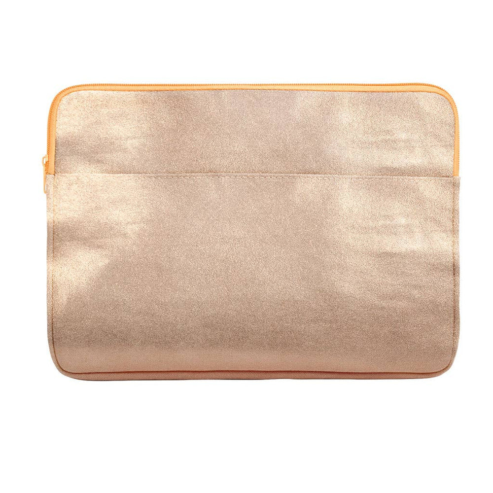 Metallic Gold Laptop Sleeve - 15""