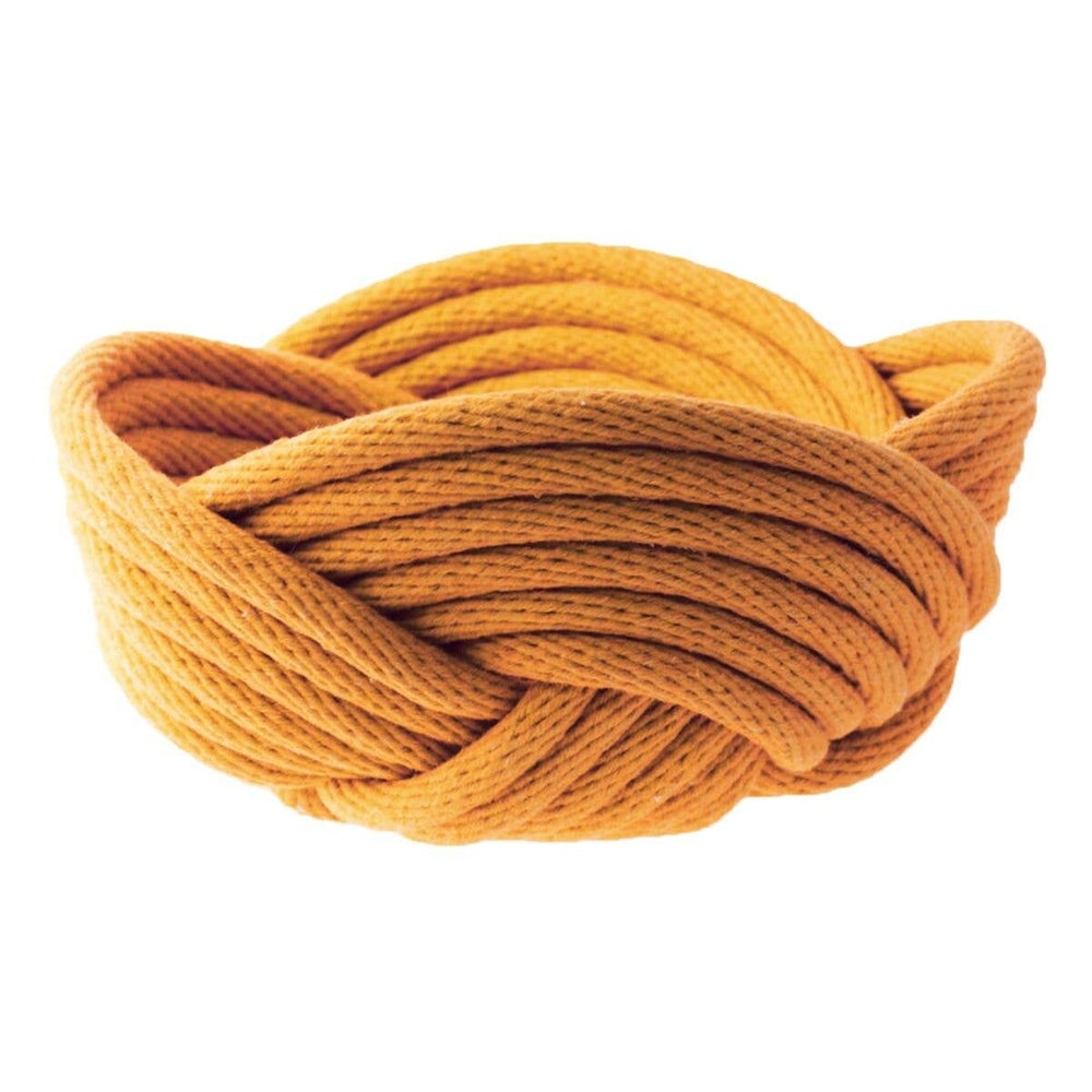 Load image into Gallery viewer, Small Weave Bowl- Turmeric