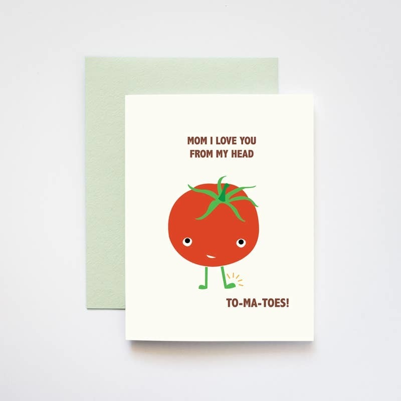 Load image into Gallery viewer, Love You Head to Tomatoes Mother's Day Card