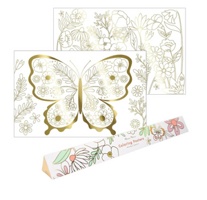 Load image into Gallery viewer, Butterfly Coloring Poster