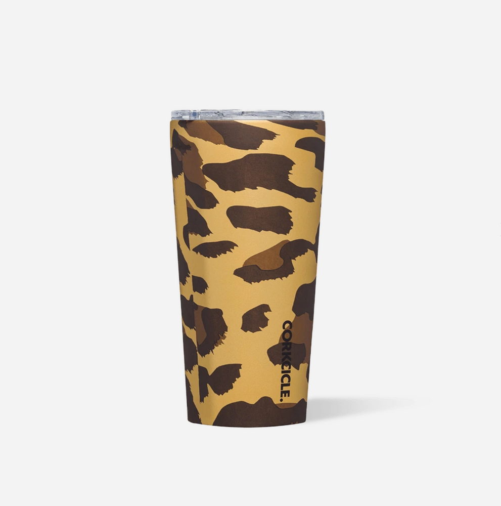 Load image into Gallery viewer, Tumbler - 16oz Luxe Leopard