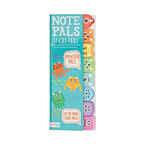 Note Pals Sticky Note Tabs - Monster Pals